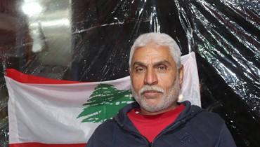 """وجوه مميّزة في انتفاضة صيدا: """"البطل"""" أبو حسن مستو مدافعاً عن لقمة عيشه وناسه"""