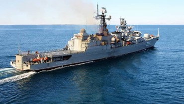 عرض قوة إيراني - روسي - صيني في الخليج
