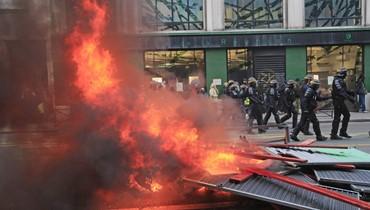 اليوم الـ24 لإضراب وسائل النقل في فرنسا: تظاهرات وعطلة نهاية أسبوع صعبة