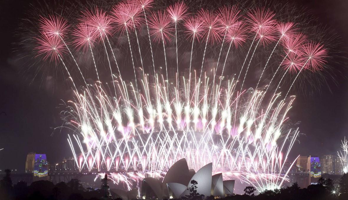 كلفته 4,5 مليون دولار... عرض الألعاب النارية مستمرّ في سيدني برأس السنة رغم اعتراضات