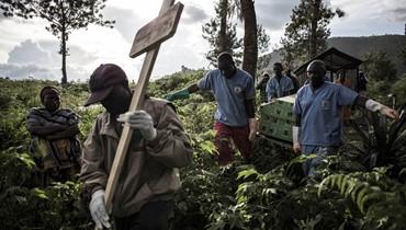 الكونغو الديموقراطية: أكثر من 3 آلاف إصابة بالإيبولا منذ آب 2018... وعدد الوفيات 2231