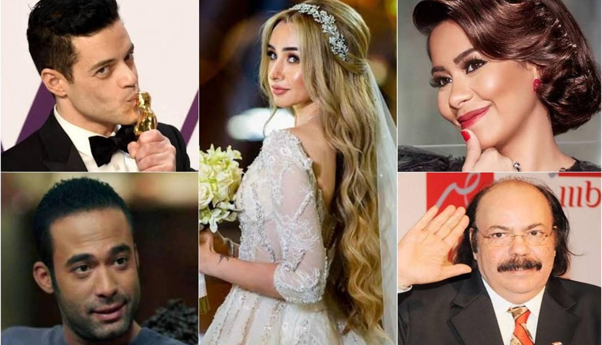 زيجات وطلاق ووفيات وإنجاز عالميّ... حصاد مثير للفنّ المصريّ في العام 2019