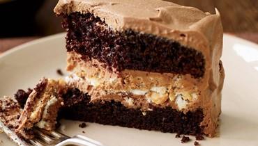 كيك الشوكولا بزبدة الفول السوداني: حلوى مبتكرة بمناسبة الأعياد!
