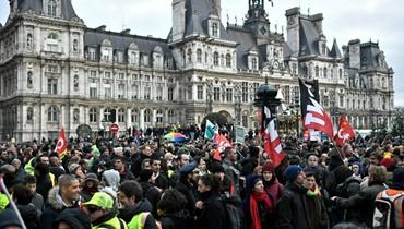فرنسا: الإضراب ضدّ إصلاح نظام التّقاعد تواصل... ماكرون يلقي كلمة في مناسبة رأس السنة