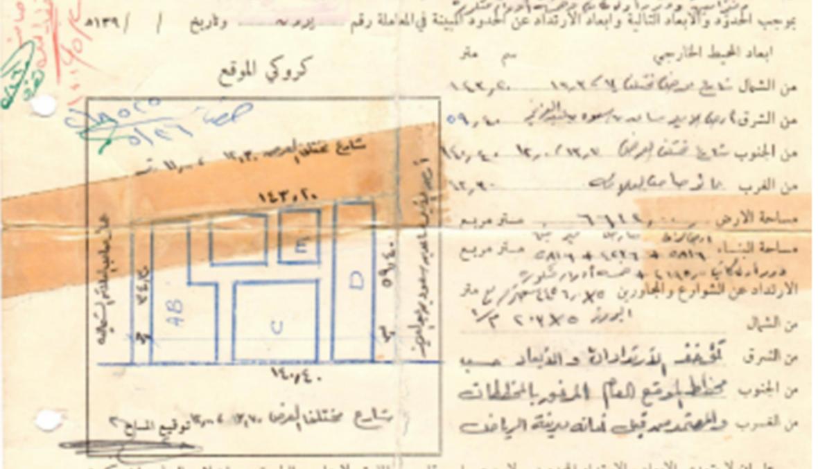 رخصة بناء سينما في الرياض قبل ٤٤ سنة