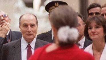 France: l'amour fou et secret, en lettres, de l'ex-président Mitterrand