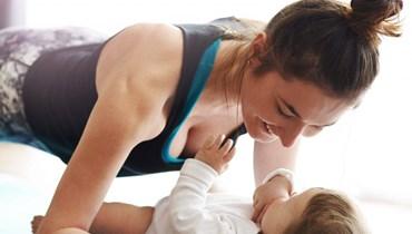 ما هي التمارين الرياضية المسموحة بعد الولادة؟