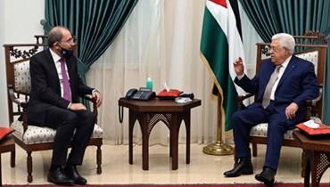 الصفدي في رام الله: لقاء مع عباس حول المخطط الإسرائيلي لضمّ أراض في الضفة