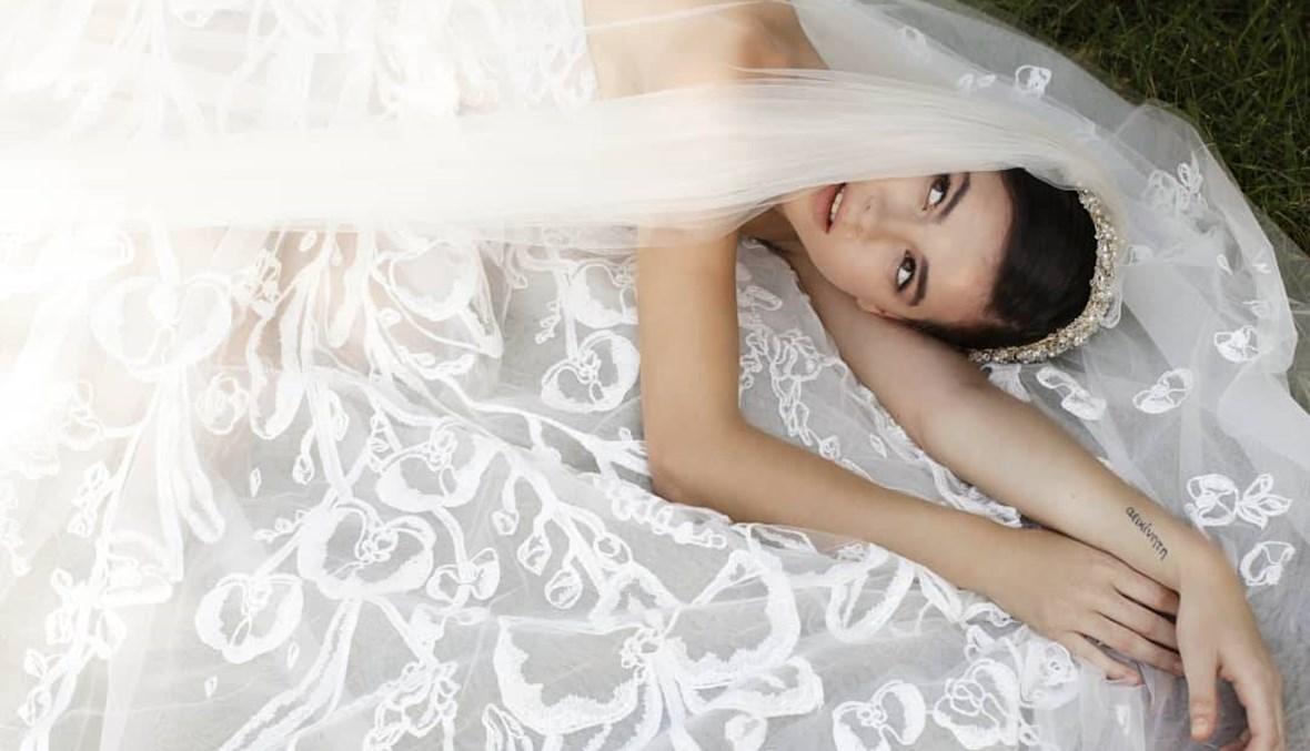 عروس جورج حبيقة مميزة بتفاصيل إطلالتها... محاكاة البساطة والأناقة (صور)