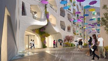 المبادرة الأولى من نوعها... دبي تشيّد شارعاً للأمطار والثلوج الصناعية