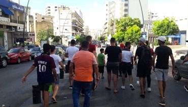 تحركات في صيدا احتجاجاً على غلاء الاسعار