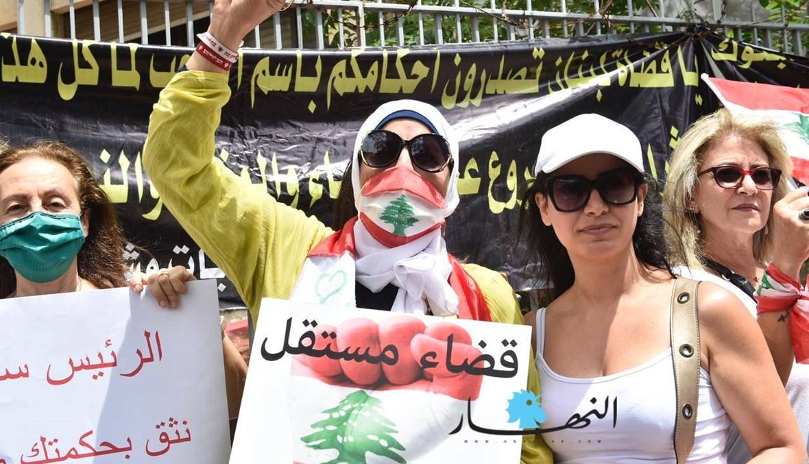 هذا ما دار بين النقيب المراد والمعتصمين حول الاحتجاج أمام عدلية طرابلس وملفّ ربيع الزين
