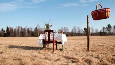 """مطعم لشخصٍ واحد في الريف السويدي... """"دعِ القلق جانباً"""" بعيداً من خطر كورونا"""