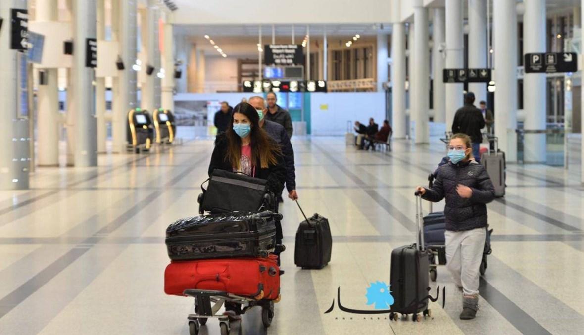 """رئيس المطار لـ""""النهار"""": فحوص الـPCR للقادمين من الخارج ستدفع بالدولار الأميركي"""