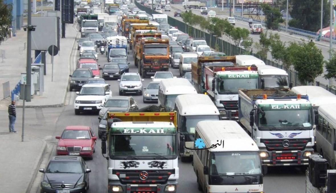 اتحادات ونقابات النقل البريّ: للإضراب إذا لم تتحقّق المطالب