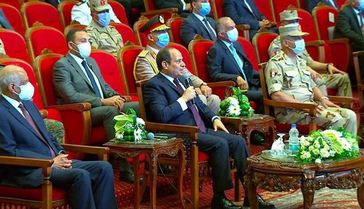السيسي يفتتح قصراً تراثيًّا ومطارين جديدين في القاهرة