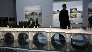 إعادة افتتاح متحف الفن المعاصر في باريس بمعرض عن كريستو