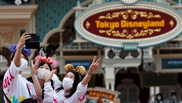 """بعد إغلاقها لـ4 أشهر... """"طوكيو ديزني لاند"""" تعيد فتح أبوابها وسط إجراءات احترازية"""
