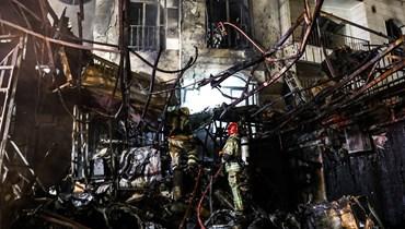 إيران تحقّق في انفجار المركز الطبي في شمال طهران... راح ضحيته 19 شخصاً