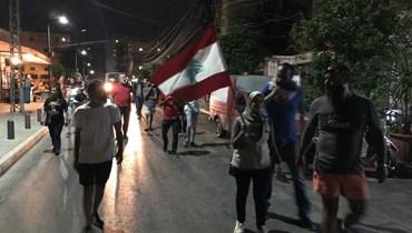 مسيرة احتجاجية لحراك صور... صرخة ضد الجوع والغلاء (صورة)