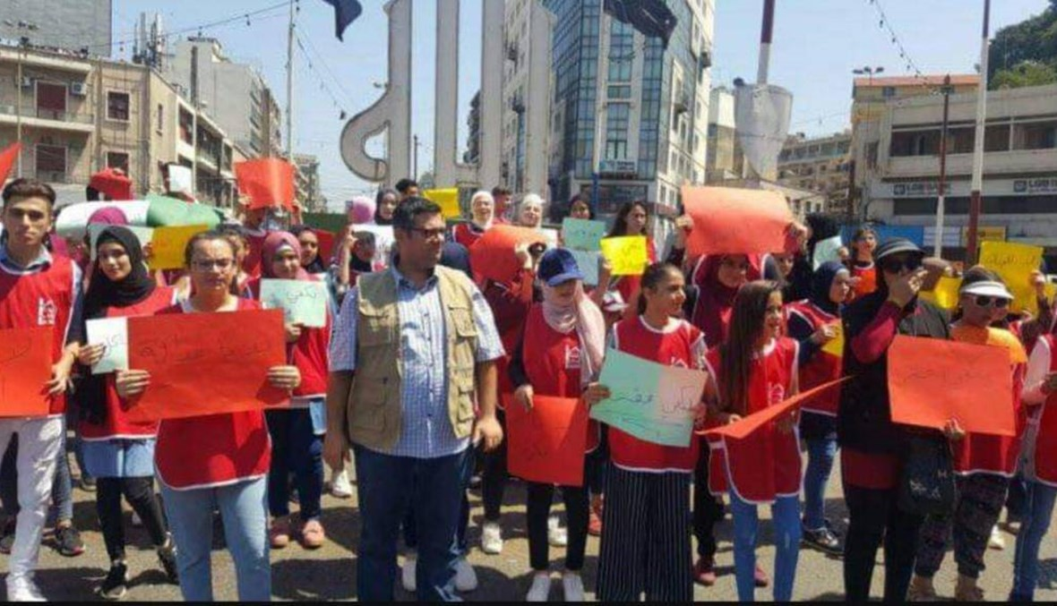 اعتصام أمام قصر عدل طرابلس للمطالبة باطلاق الزين... وتحركات مطلبية في ساحة النور