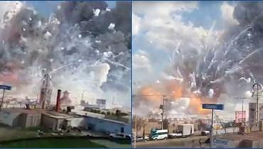 """ما حقيقة فيديو """"الانفجار الضخم في مصنع ألعاب ناريّة في تركيا""""؟ FactCheck#"""