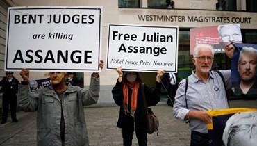 """أربعون منظمة غير حكوميّة تطالب بالإفراج """"الفوري"""" عن جوليان أسانج"""