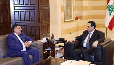 """دياب يعتمد سياسة """"الهجوم أفضل وسيلة للدفاع""""  \r\nوحراك لافت لعدم """"خطف"""" لبنان إلى المعسكر الشرقي"""