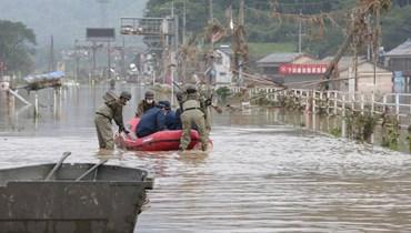 انقلاب سيارات ومقتل 16 شخصاً... اليابان تستعد لتجدّد الأمطار الجنوبية الغزيرة