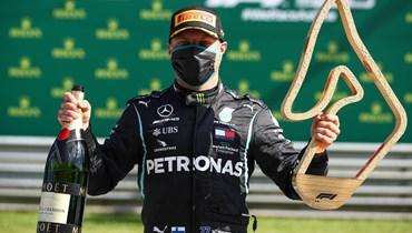 """بوتاس يدشن موسم """"فورمولا 1"""" بفوز في النمسا"""