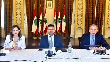 انسحاب وزيرة الاعلام من الجلسات الحوارية عن مشروع سد بسري