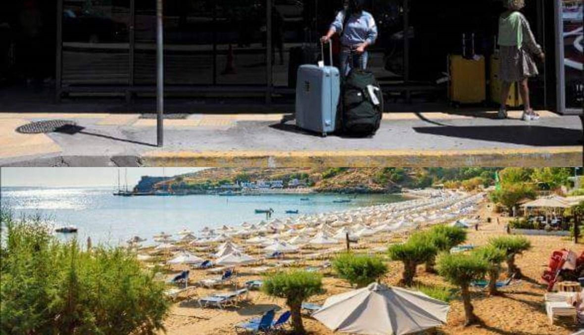 100 إصابة جديدة... أزمة تهدّد السياحة اليونانية بعد 10 أيام من عودتها