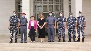 وزيرة العدل في زيارة تفقدية لمحكمة سجن رومية: للإسراع في بتّ الملفات وإصدار الأحكام