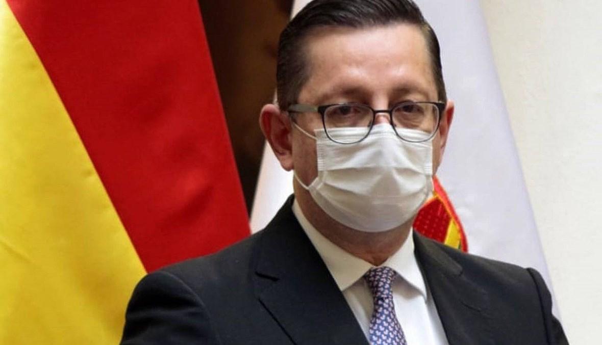 إصابة رابعة بكورونا في الحكومة البوليفيّة: وزير الاقتصاد تحت المراقبة في المستشفى