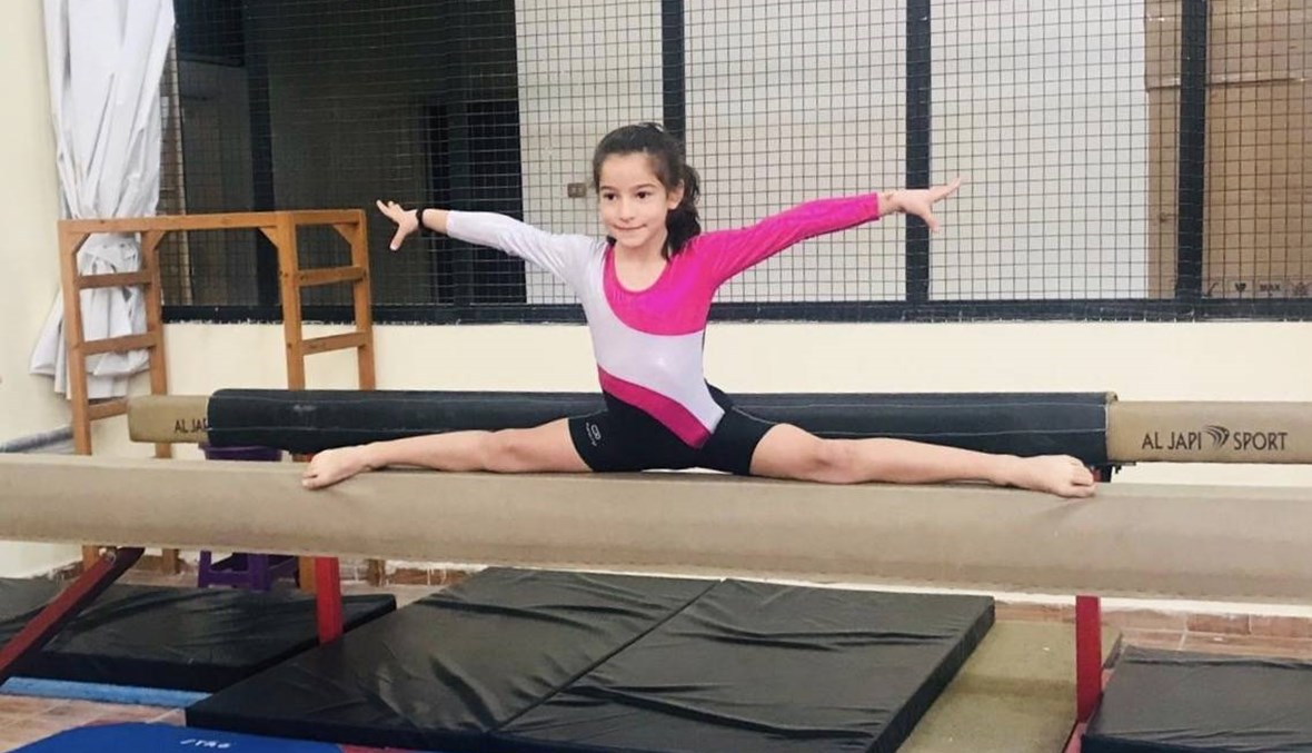 NAYA  Joury Al Shoum dives progressively into the world of gymnastics
