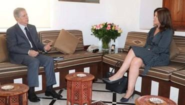 لقاء الرئيس الجميّل -شيا: السلّة الإصلاحية هي المعبر الإلزامي لنجاح المفاوضات مع صندوق النقد