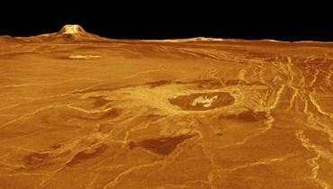 37 هيكلا بركانيا نشطاً على كوكب الزهرة