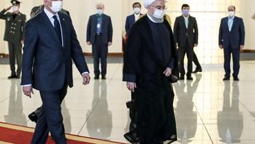 الكاظمي في طهران: نرغب بتطوير علاقات بلا تدخلات