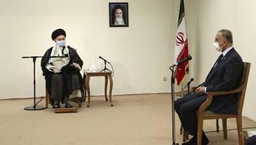 خامنئي للكاظمي: لا نتدخل في علاقة العراق بواشنطن