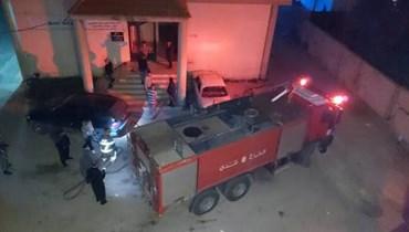 """""""التيار الوطني الحر """" يعلّق المصالحة بشأن إحراق مكتبه في منيارة عكار"""