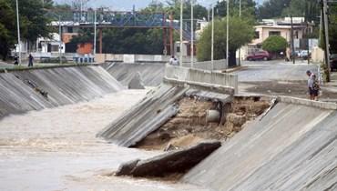 مع عبور العاصفة هانا... مقتل شخصين وفقدان أربعة في المكسيك