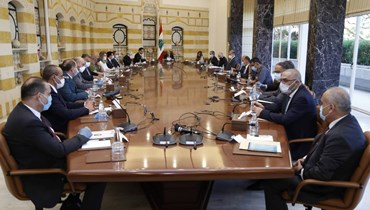 المجلس الاعلى للدفاع مجتمع برئاسة عون في القصر الجمهوري