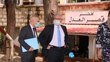 أبي اللمع ومحفوض قدما إخباراً عن المعابر غير الشرعية والتهريب إلى سوريا (صور)