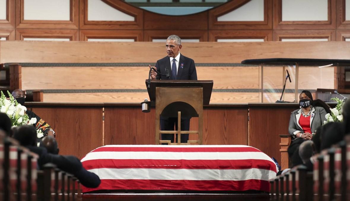 """أوباما يُدين مواجهة الشرطة الفدرالية """"متظاهرين سلميين""""... ويجدّد مهاجمة ترامب"""