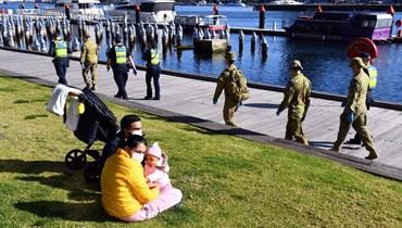 أوستراليا تشدّد القيود في ملبورن: حظر التجوّل الليلي ومنع حفلات الزفاف