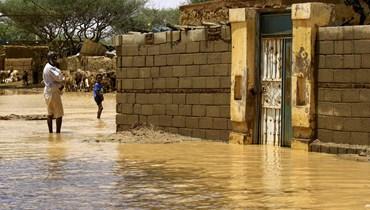 أمطار غزيرة وفيضانات في السودان: خمسة قتلى وتدمير آلاف المنازل