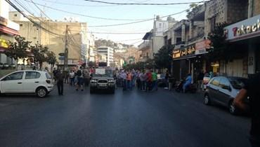 مسيرة احتجاجية رفضاً لأزمة البنزين والمازوت في النبطية (صور - فيديو)