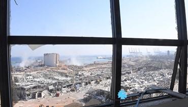 فيديوات التغطية المباشرة من بيروت الجريحة... المشهد يفطر القلب