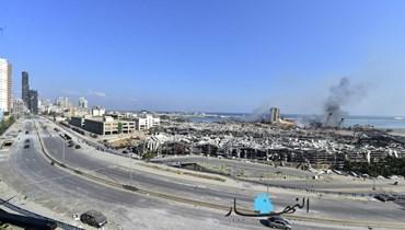قطع طرقات وتدابير أمنية ضمن بيروت