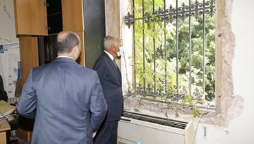 أبو الغيط من وزارة الخارجية: سيستعيد لبنان دوره الحضاري ورونقه